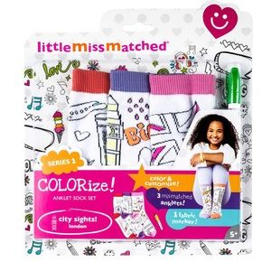 Little Miss Matched LONDON COLORIZE ANKLE SOCKS